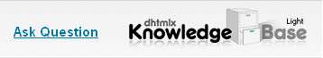 Knowledge Base - Ask your questions about DHTMLX Toolkit
