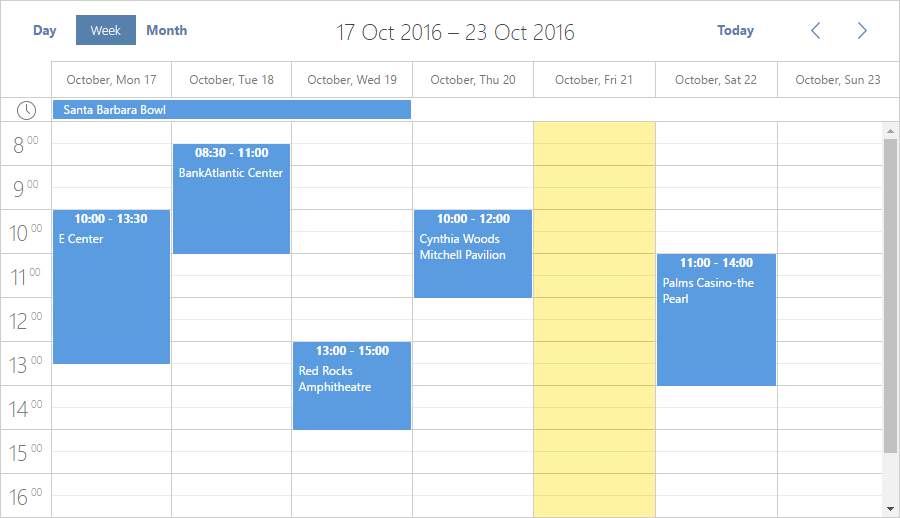 Event Calendar for ASP NET MVC with dhtmlxScheduler - DHTMLX