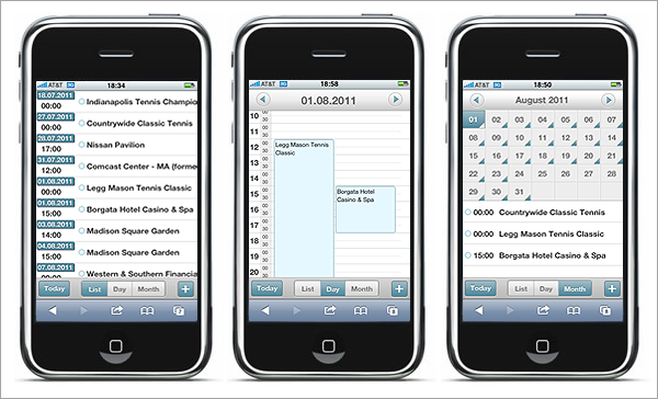 dhtmlxScheduler 3.0 - Mobile Scheduler