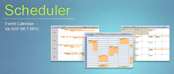 DHTMLX Scheduler for ASP NET - Add Rich Event Calendar to Your Web