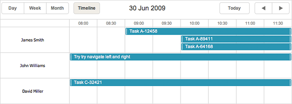 dhtmlxScheduler 3.6 - Hours Scale in Timeline View