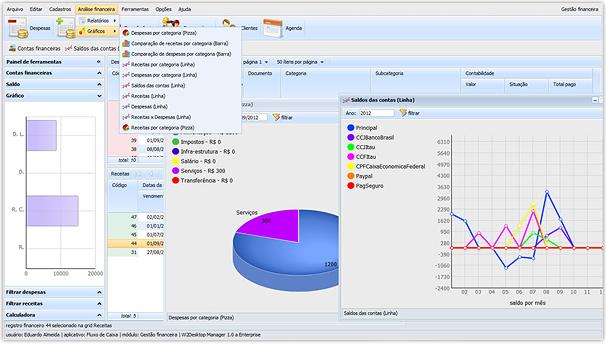 Cash Flow App Built with DHTMLX - View Demo