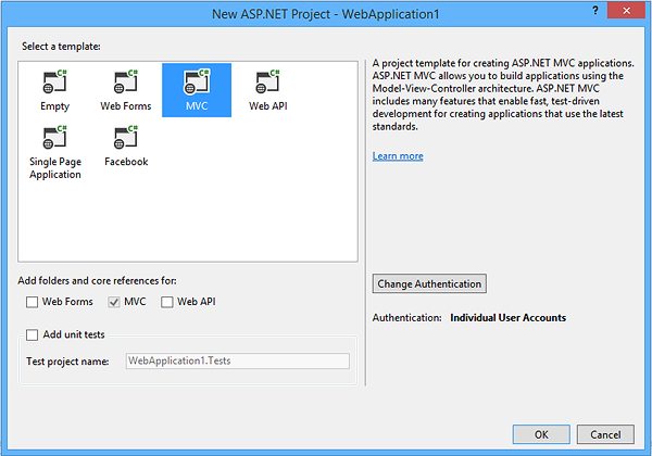 dhtmlxGantt with ASP.NET MVC - Creating a Project