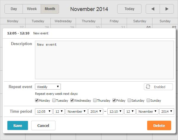 Scheduler-recurring