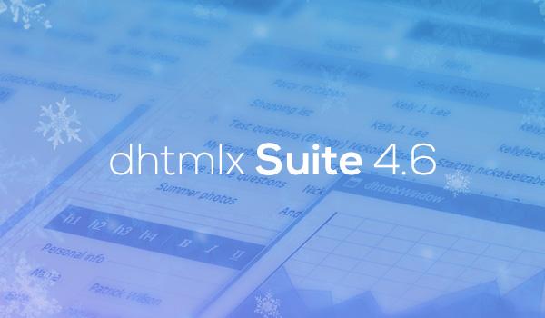 dhtmlxSuite 4.6