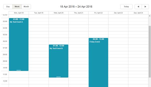 calendar in scala