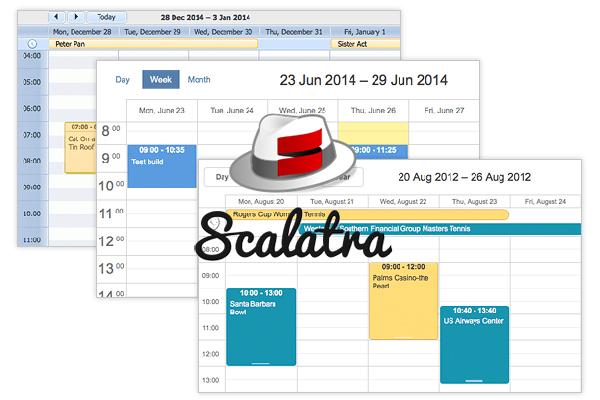 scheduler with scalatra