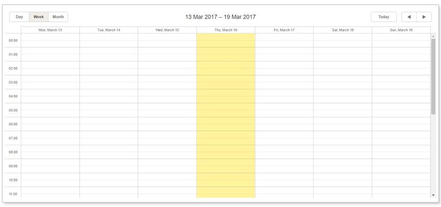 empty-scheduler