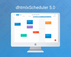 dhtmlxScheduler 5.0