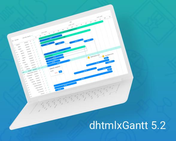 dhtmlx Gantt 5.2 release