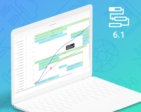 Gantt 6.1 update