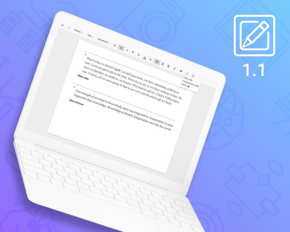 RichText 1.1 update