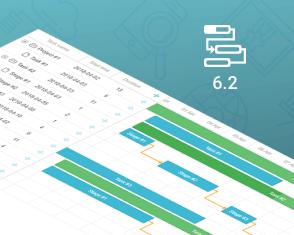 DHTMLX Gantt 6.2