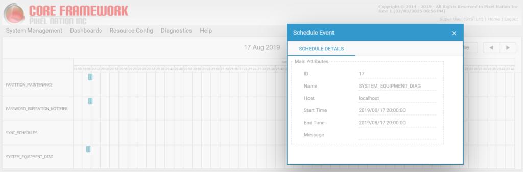 pixel-core-schedule-timeline