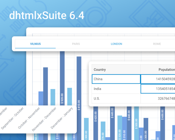 DHTMLX Suite 6.4