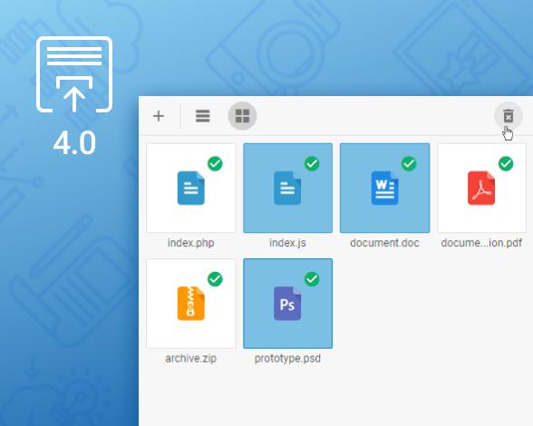 DHTMLX Vault - JS File Upload Control