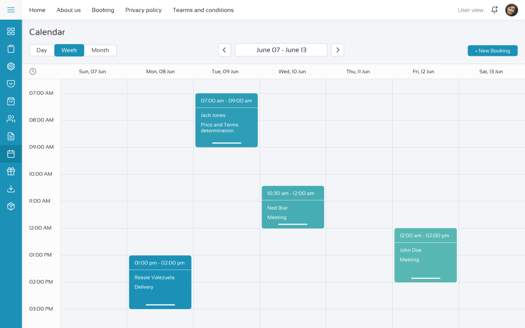 DHTMLX Scheduler in online appointmentservice
