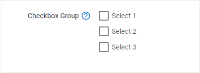 Checkbox Group - DHTMLX Form