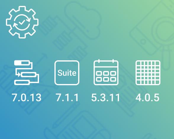 Maintenance release - Gantt, Suite, Scheduler, Spreadsheet