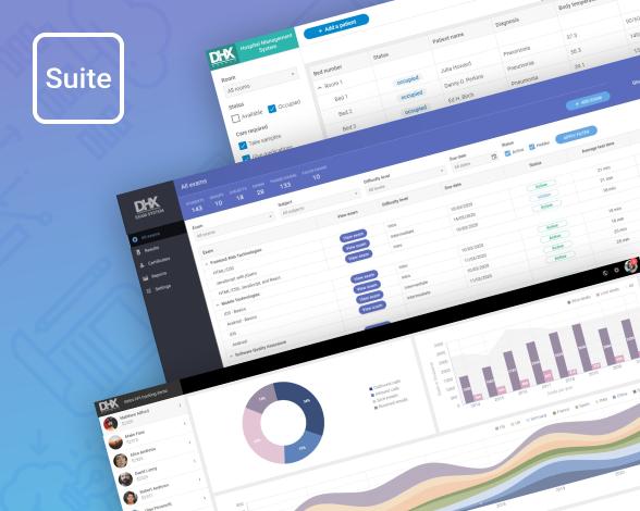 javascript demo apps - DHTMLX Suite