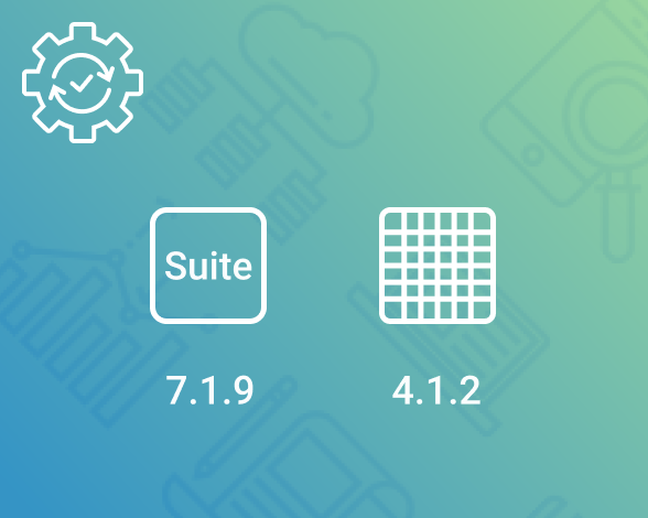 bug fixes for DHTMLX Suite and Spreadsheet components