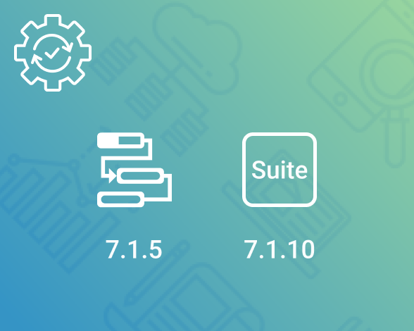 Maintenance release - Gantt, Suite