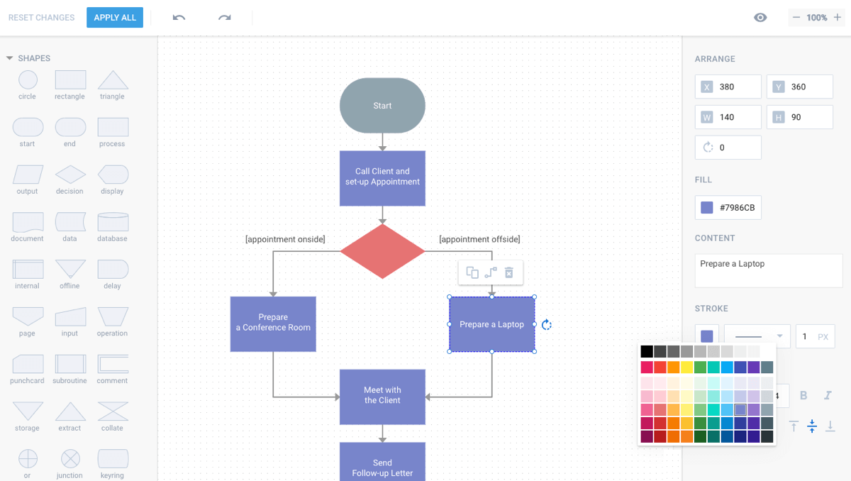 HTML5 and JavaScript Diagram Library - dhtmlxDiagram