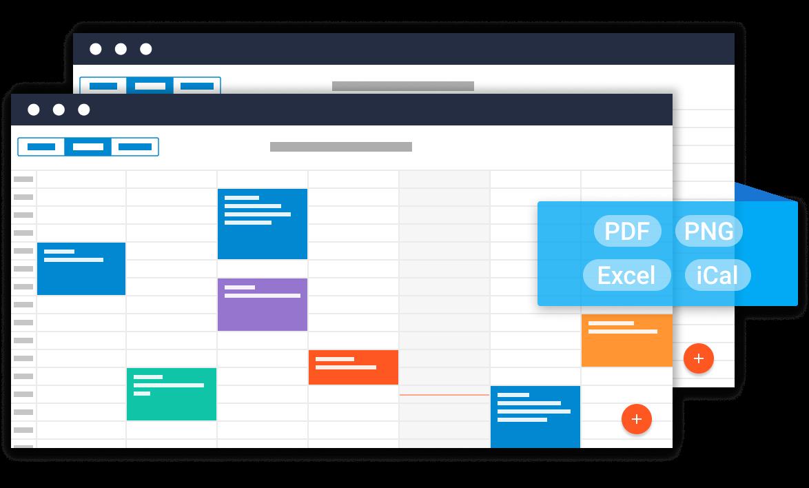 Scheduler - Javascript event calendar - dhtmlxScheduler